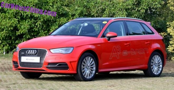 A3 Sportback e-tron to launch in China late this month