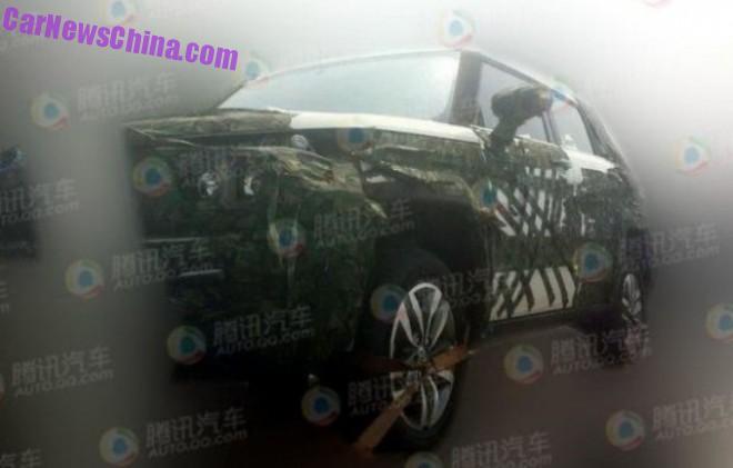 Spy Shots: Beijing Auto BJ20 SUV testing in China