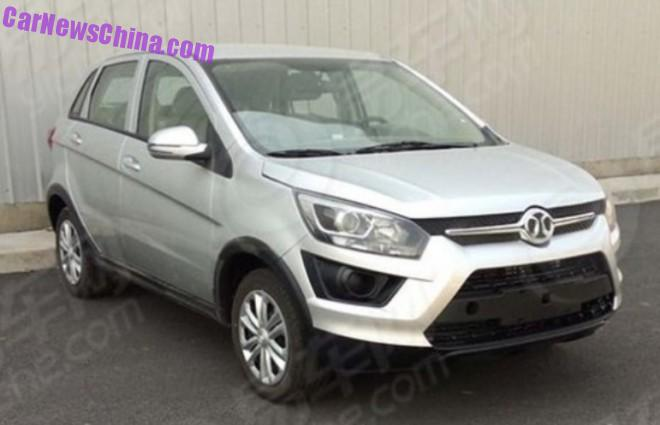 Spy Shots: Beijing Auto Senova X25 is Ready for China