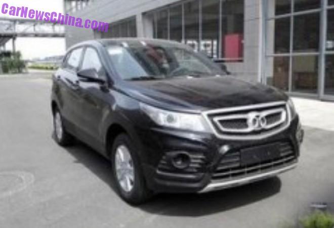 Spy Shots: Beijing Auto Senova X55 is Ready for the Chinese car market