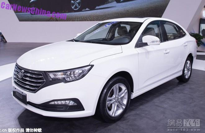 FAW Besturn B30 will launch in China in November