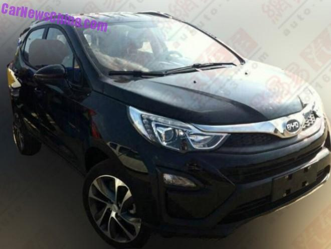 Spy Shots: BYD S1 SUV is Naked in China