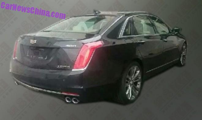 Spy Shots: China-made Cadillac CT6 is Almost Ready for the Chinese car market