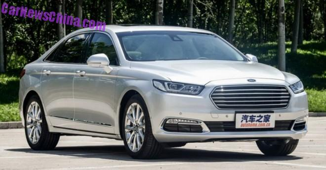 This is the 2016 Ford Taurus for the Chinese auto market
