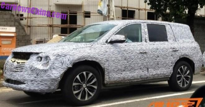 Spy Shots: Guangzhou Auto Trumpchi GS6 SUV testing in China