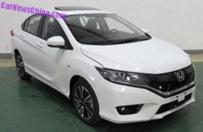 Spy Shots: Honda Greiz sedan is Almost Ready for China