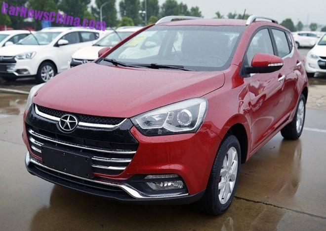 This is the JAC Refine S2 compact SUV for China