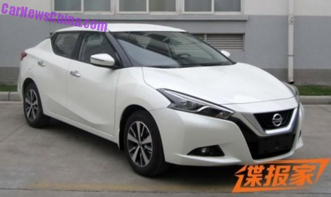 Spy Shots: Nissan Lannia is Ready for the Chinese car market