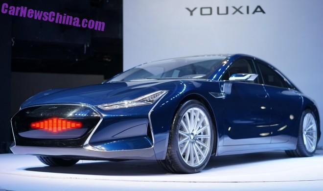 The Youxia X is a new Electric Super Sedan from China