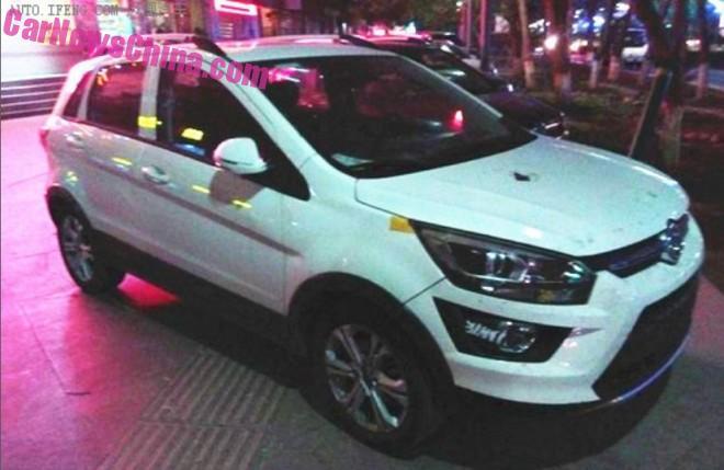 Spy Shots: Beijing Auto Senova X25 on the Road in China