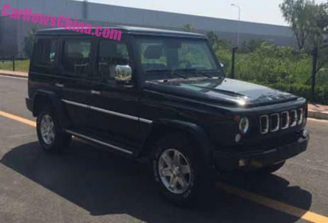 Spy Shots: Beijing Auto BJ80 is Ready for the Chinese car market