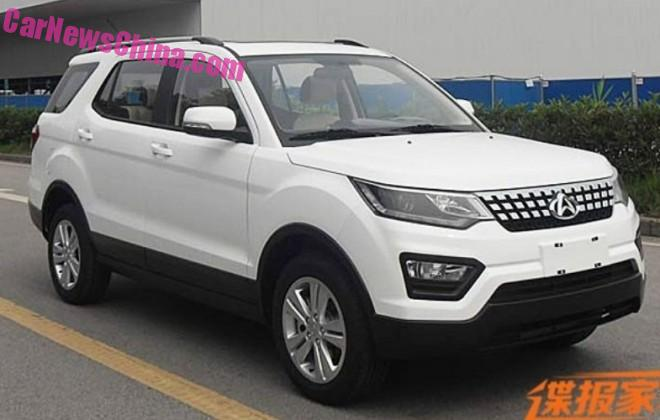 Spy Shots: Changan CX70 SUV is Naked in China