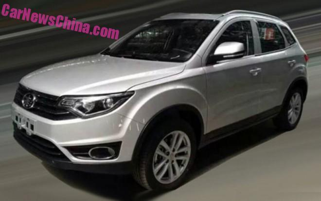 Spy Shots: FAW R20 SUV is Naked in China