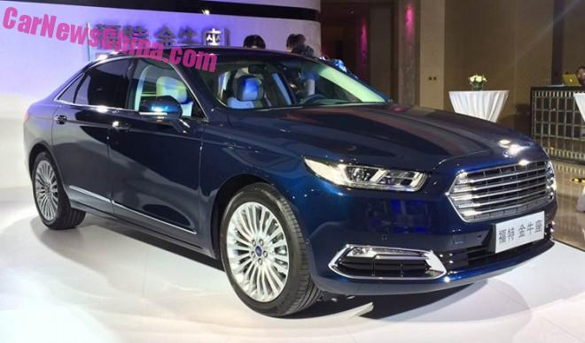 Ford Taurus will be launched on the Chinese car market in September