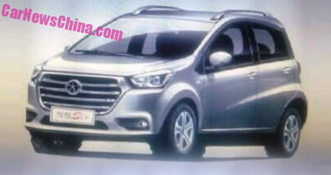 Spy Shots: JAC Refine S1 mini crossover for China