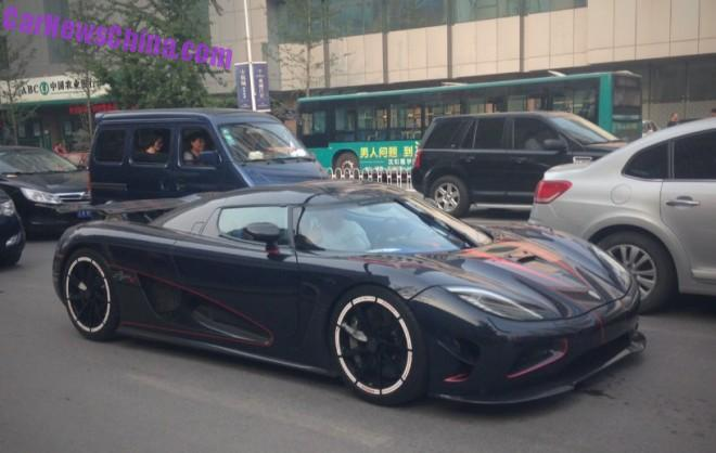 Koenigsegg Agera R BLT is Out and On the Road in China