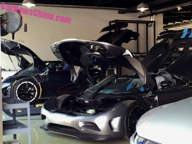 Koenigsegg Agera R on the Double in China