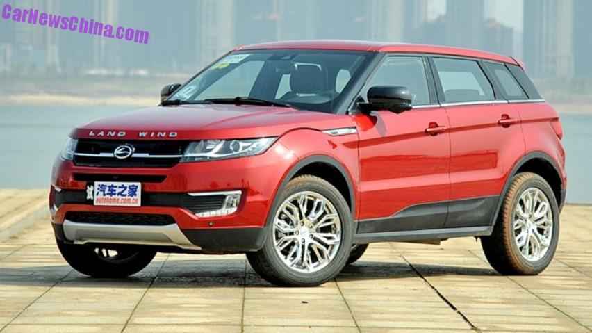 on sale in china range rover lookalike kit for the landwind x7 range rover clone. Black Bedroom Furniture Sets. Home Design Ideas