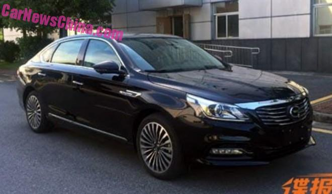 Spy Shots: Guangzhou Auto Trumpchi GA8 sedan is Ready for China