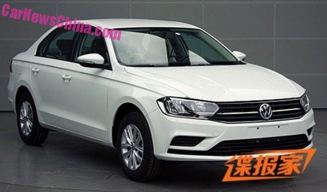 Spy Shots: this is the new Volkswagen Bora for China