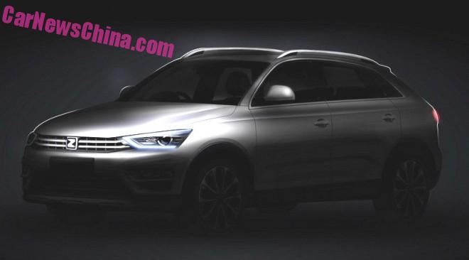 Officially Official: the new Zotye S21 SUV for China