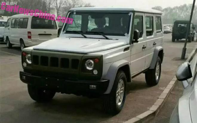 Spy Shots: the Beijing Auto BJ80 in all sorts & shapes