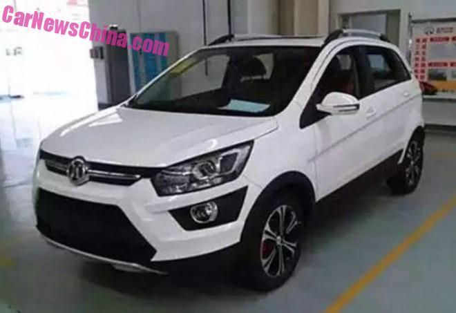 Spy Shots: Beijing Auto Senova X25 is Almost Ready for China