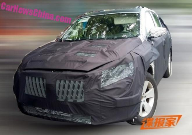 Spy Shots: Borgward BX7 testing in China, interior unveiled