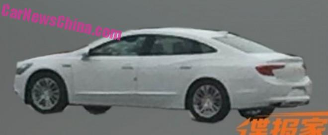 Spy Shots: 2016 Buick Lacrosse is Testing in China