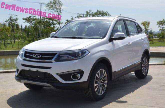 Spy Shots: facelift for the Chery Tiggo 5 SUV in China