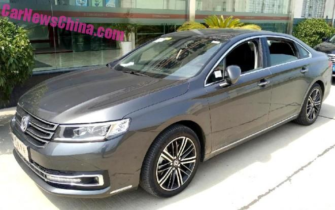 Spy Shots: Dongfeng Number 1 sedan is Naked in China