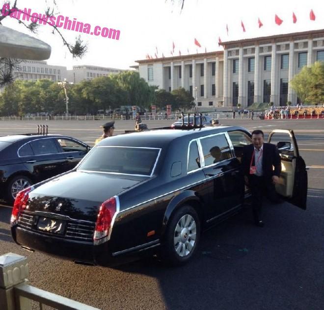 Another Look at the Hongqi CA7600J parade car in China