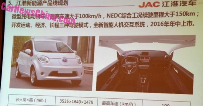 JAC is Going Green with EV's, hybrid