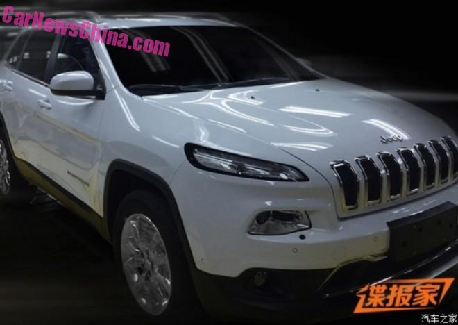 Spy Shots: China-made Jeep Cherokee is Ready for the Chinese car market