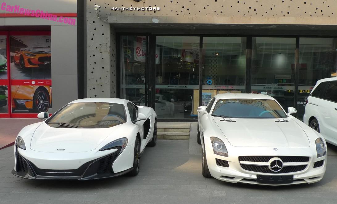 SuperCar China Double Spot: McLaren 650S & Mercedes-Benz SLS AMG ...