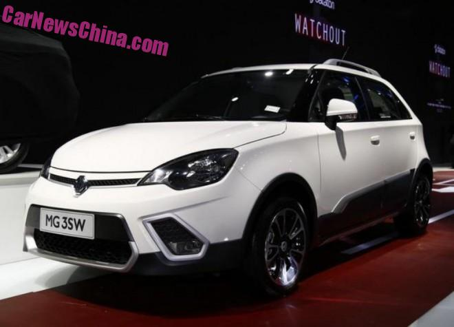 MG 3SW debuts at the 2015 Chengdu Auto Show in China