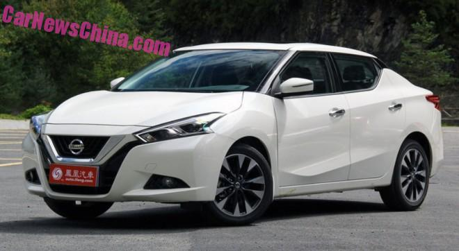 This is the new Nissan Lannia sedan for China