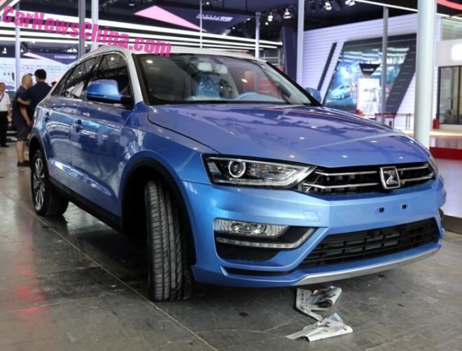 2015 Chengdu Auto Show in China: the Zotye S21 arrives