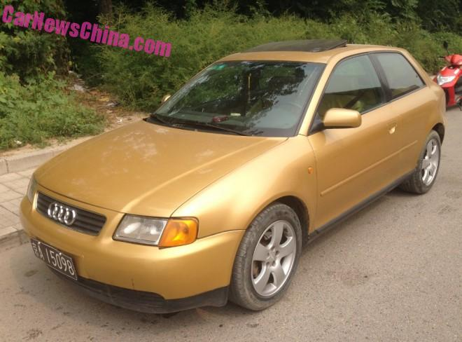 Spotted in China: first generation Audi A3 3-door hatchback