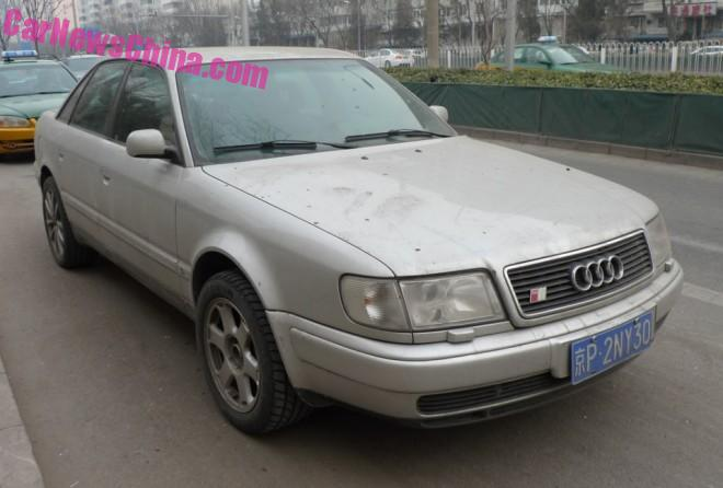 Spotted in China: C4 Audi S6 sedan