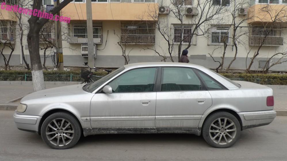 Spotted in China: C4 Audi S6 sedan - CarNewsChina.com