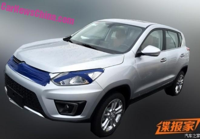 Spy Shots: Beijing Auto Senova X35 SUV for China