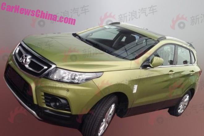 Spy Shots: Beijing Auto Senova X55 SUV for the Chinese car market