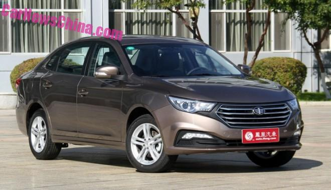 This is the Besturn B30 sedan for China