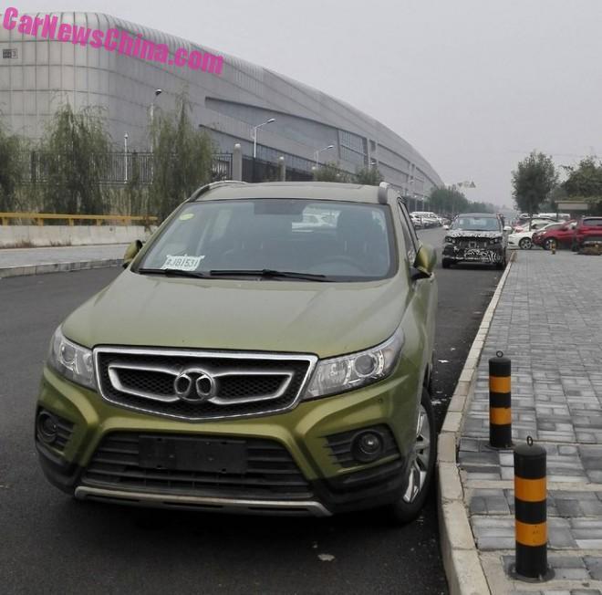 More Spy Shots of the Beijing Auto Senova X55 SUV for China