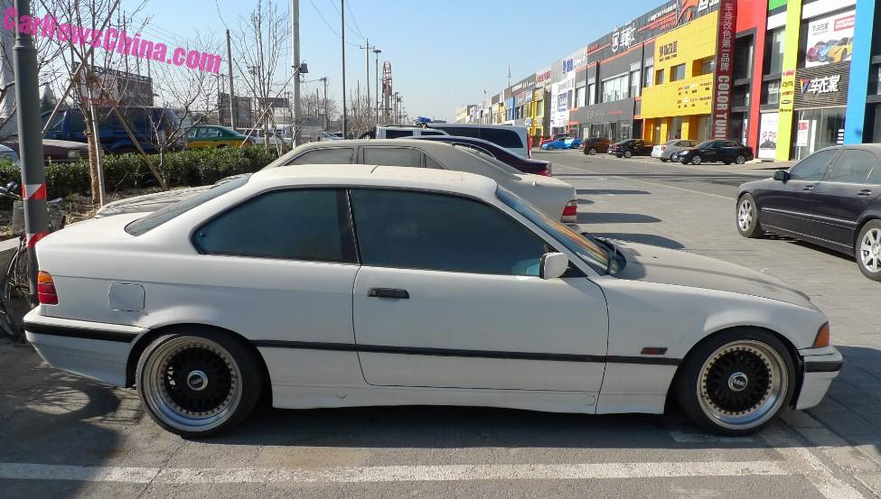 Spotted In China E36 Bmw 328i Coupe Is Racy In China
