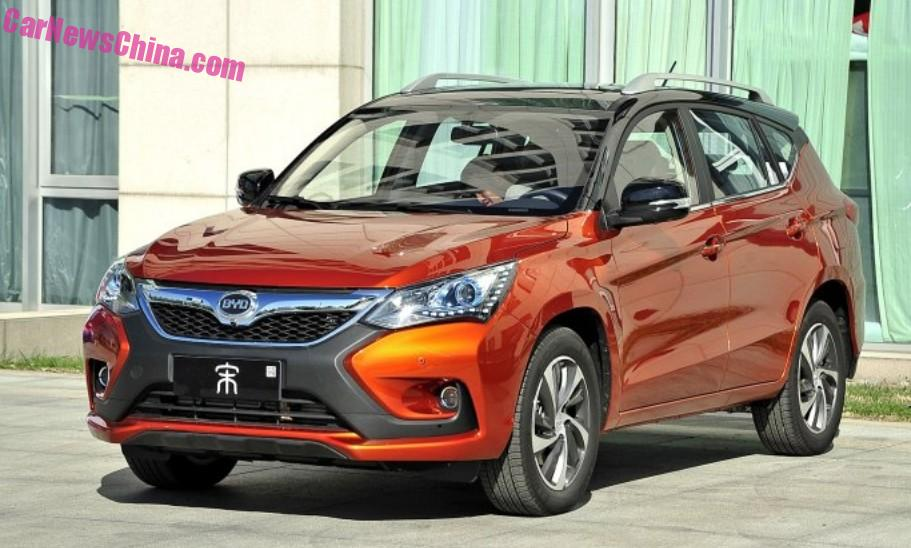 BYD Song SUV Hits The Chinese Car Market
