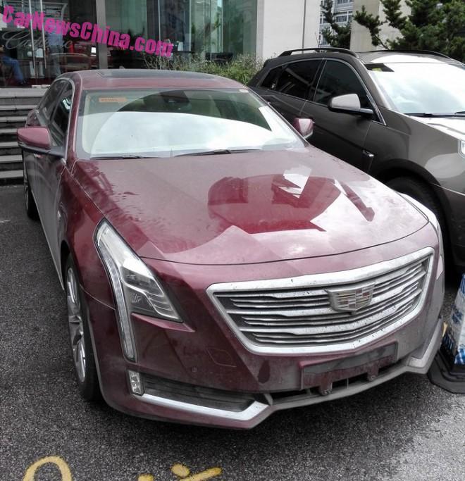 China-made Cadillac CT6 Arrives At The 2015 Chengdu Auto