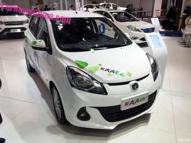 Changan Benben EV unveiled in China