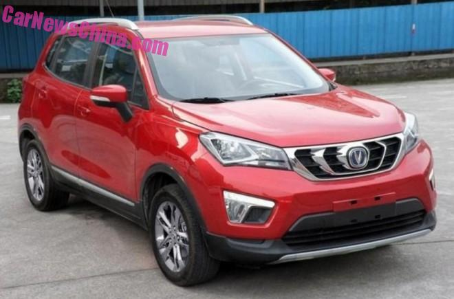 Spy Shots: Changan CS15 SUV is Almost Ready for China